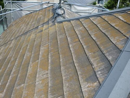 施工前の屋根写真