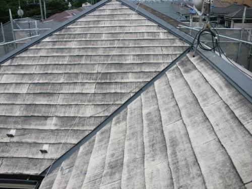 洗浄後の屋根写真